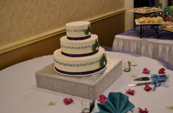 bling wedding cake toppers