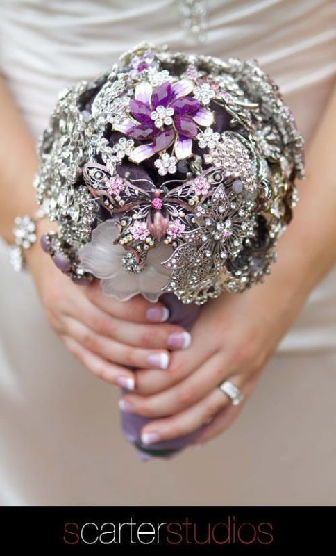 My brooch bouquet that I made