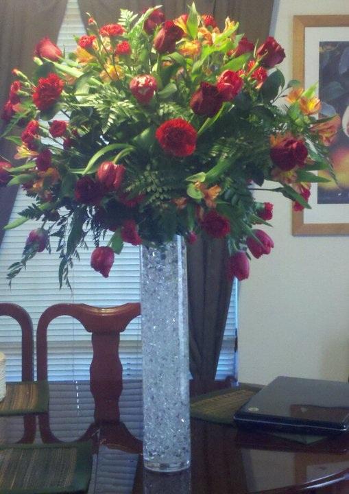 Diy Tall Wedding Reception Centerpieces : My diy wedding centerpieces weddingbee photo gallery