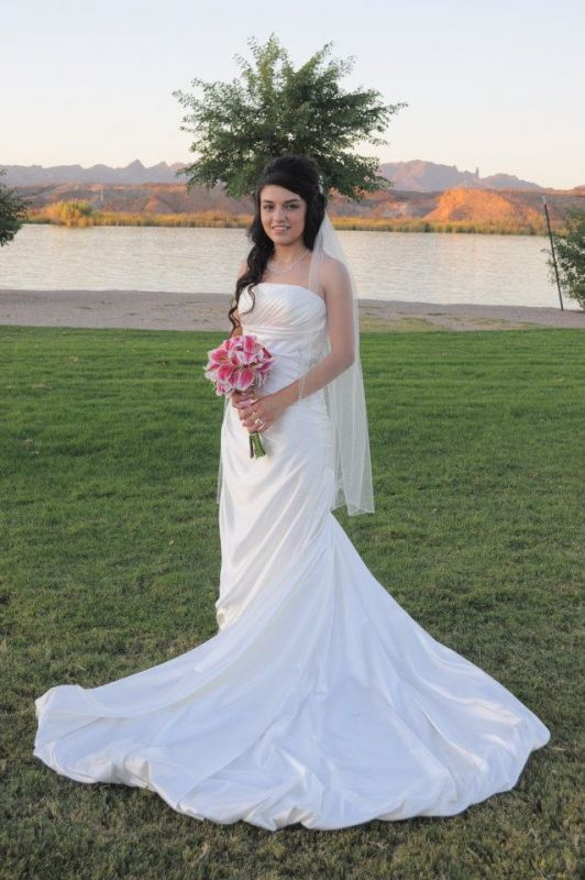 My wedding dress :) :  wedding dress ivory white Me In Wedding Dress