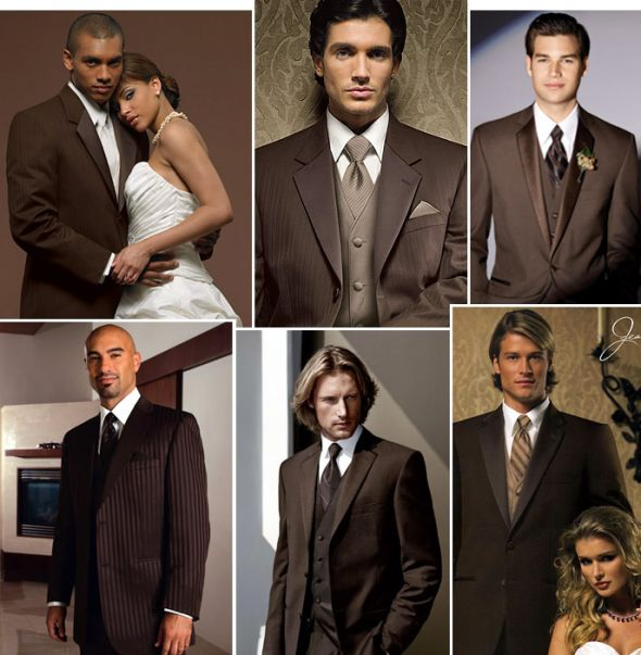 Brown Wedding Tux: Niecey's Blog: Here 39s One In Brown And Ivory Champagne