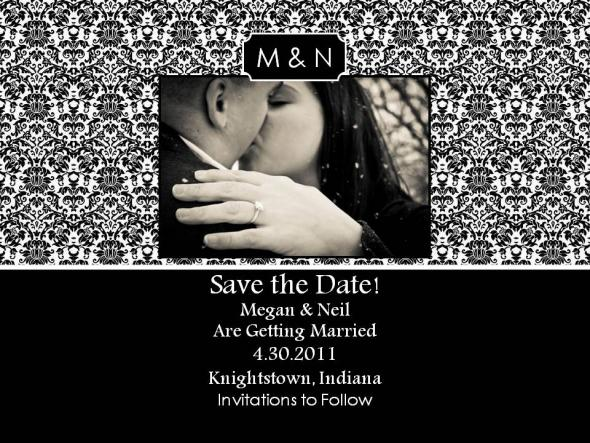 email save the date templates