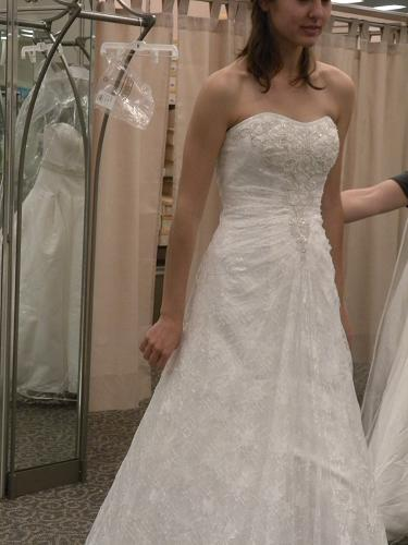 I ordered my dress last week!