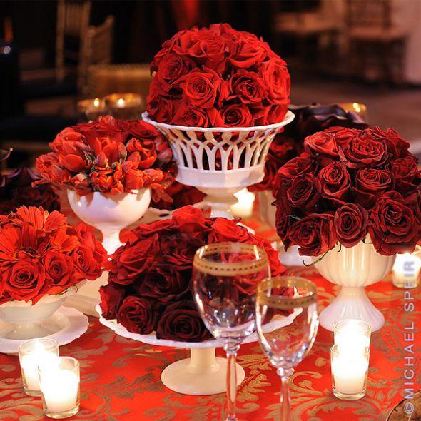 Vintagerous vintage glass bargain wedding flower ideas