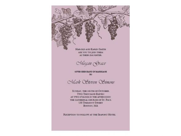 Our wedding invitation suites also include a matching pearlized envelope