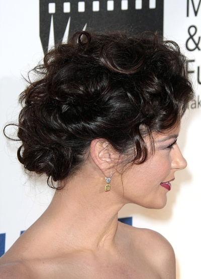 Hair HELP wedding Curly Hair Updo