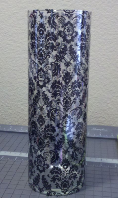 Diy damask vase for centerpieces weddingbee photo gallery