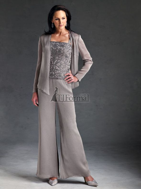 Grandmother of the bride dresses pant suits quotes for Grandmother dresses for summer wedding