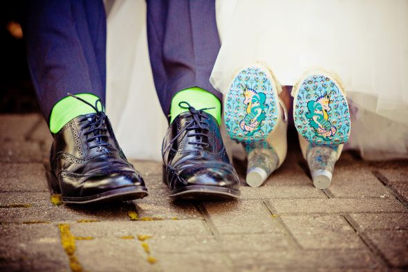 Fun Wedding Shoes!
