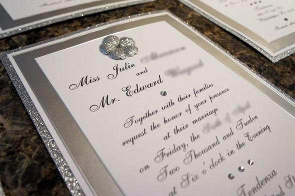 Bling Wedding Invitations 021 - Bling Wedding Invitations