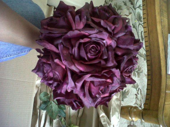 Eggplant Flower Bouquet Maid Of Dark Purple Eggplant Blueprint Guitar