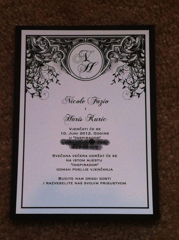 Art NouveauDeco Wedding Invitations