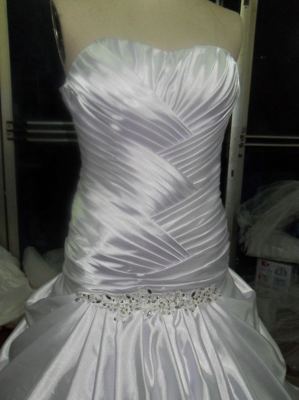 knockoff wedding dress