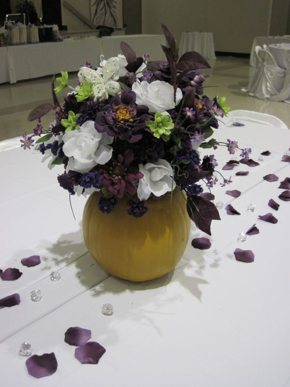 Fall Pumpkin Centerpieces for Sale wedding pumpkin centerpiece fall