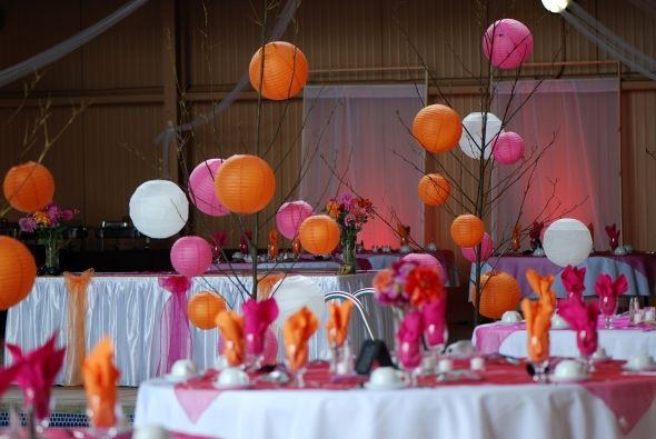 Red orange and pink wedding themes images wedding decoration ideas pink orange wedding theme gallery wedding decoration ideas junglespirit Image collections