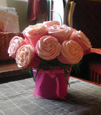 Cupcakes as centerpieces wedding centerpiece cupcake Cupcake Bouquet