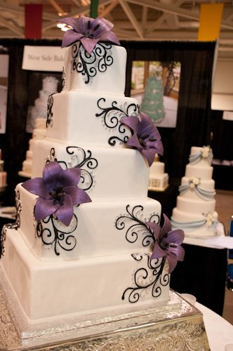 cake inspiration :  wedding cake inspiration peony pink reception teal tiffany blue wedding cake white Cake01