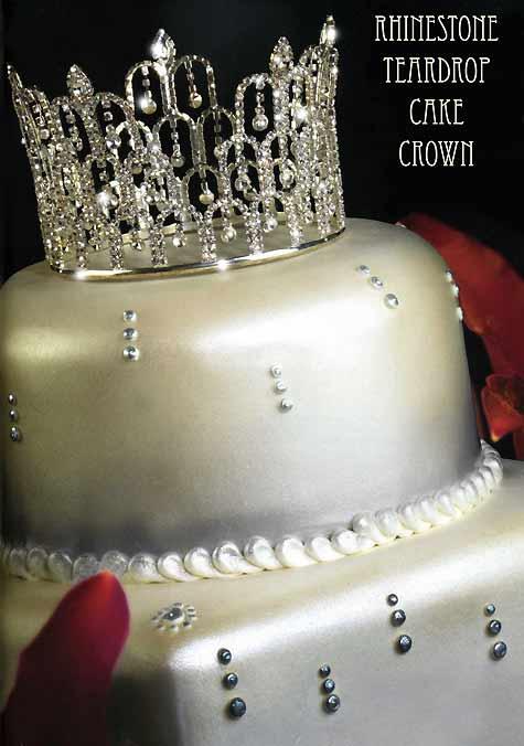 New Trend JEWELRY on wedding cakes