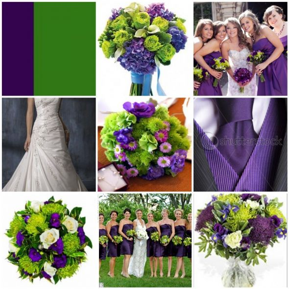 Pacittis blog wedding dress all laid out and ready for the bride purple and green wedding invitations junglespirit Choice Image