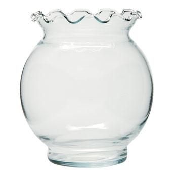 Flute glass vases vases sale for Dollar tree fish bowls