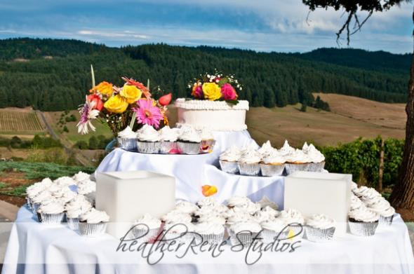 Wedding Cupcakes Photos :  wedding cupcakes oregon wedding sweet cheeks winery wedding cake wedding cupcake winery wedding Wed2010. 42