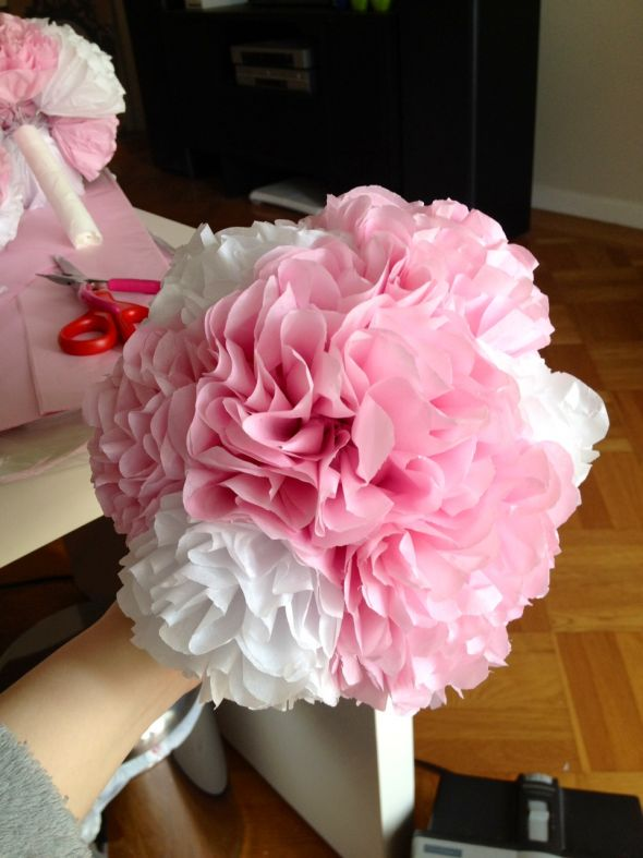 "Okay do my tissue paper flowers look ""cheap""?"