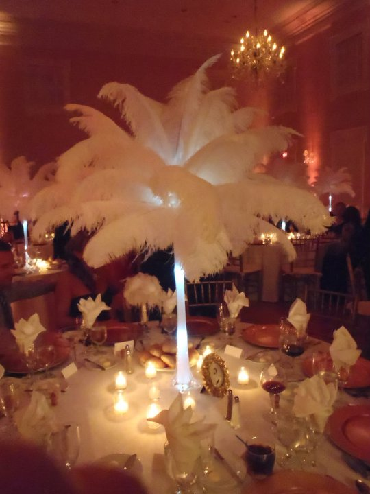 Bridgeeys Blog Pink Green And Gold Wedding Centerpiece Lovely And