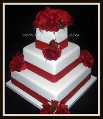 Our Flavors Are The 1st And 3rd Teir Wedding Cake 2nd Tier Is Red Velvet