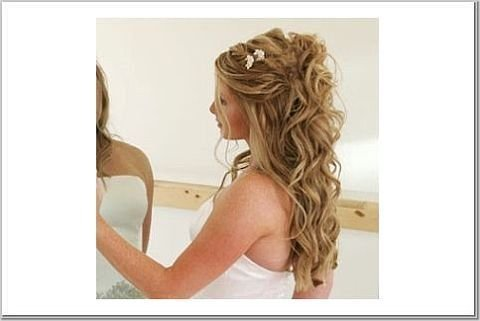 half up half down wedding hairstyles. half up half down wedding