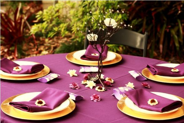 wedding Table Settings 7 months ago Related Topics Where to find linens & Hristinau0027s blog: Learn about our policies regarding the use of ...