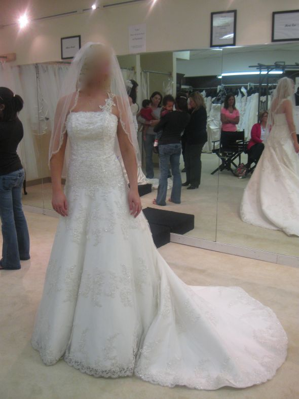 Second Thoughts on my Wedding Dress!!!!!