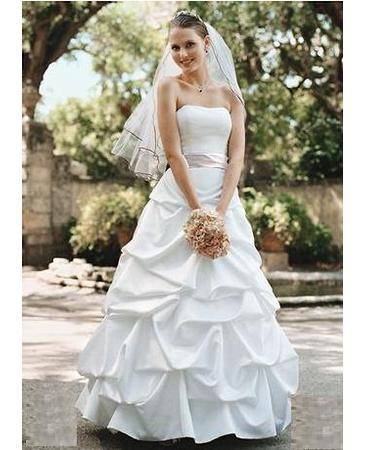 55a2906f1336 NEW WITH TAGS David 39s Bridal Wedding Dress Size 12 wedding wedding dress.  Vintage ...