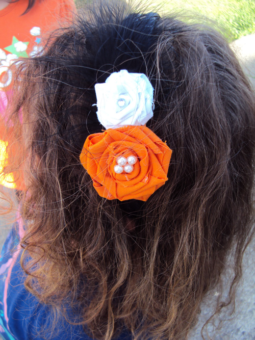 DIY Flowergirl Headbands