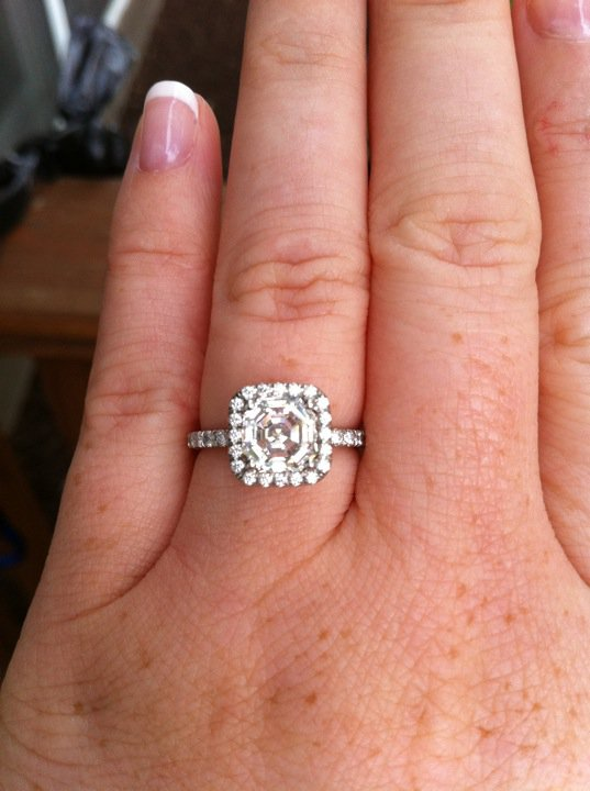 To Do A Wedding Band On Each Side Of My Engagement Ring Or Just 1 Can You Guys Please Help Me Maybe Even Show Pics For Examples