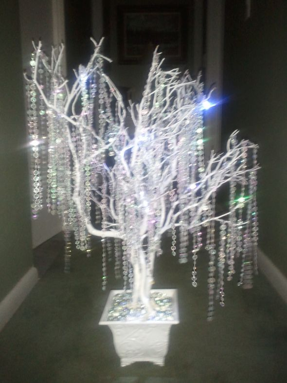 Gorgeous Crystal Wedding trees wedding crystal wedding trees centerpieces