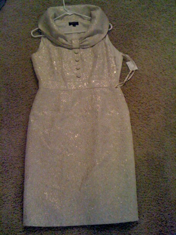 Beautiful Ivory/Gold Brocade Dress :  wedding rehearsal dinner dress bridesmaid dress mother of the bride dress gold ivory bridesmaids ceremony dress reception Gold Brocade Dress :  Wedding Rehearsal Dinner Dress Bridesmaid Dress Mother Of The Bride Dress Gold Ivory Bridesmaids Engagement Ceremony Dress Reception Tahari2 Beautiful Ivory/Gold Brocade Dress :  wedding rehearsal dinner dress bridesmaid dress mother of the bride dress gold ivory bridesmaids engagement ceremony dress reception Tahari2
