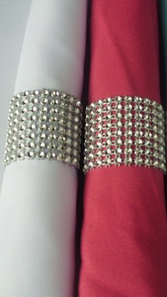 Napkin Rings BLING