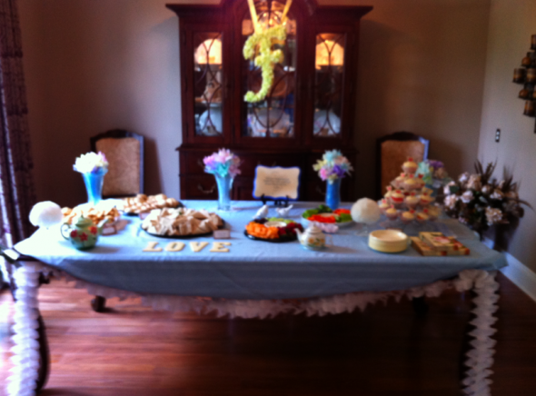 Tea Party Bridal Shower (picture heavy)