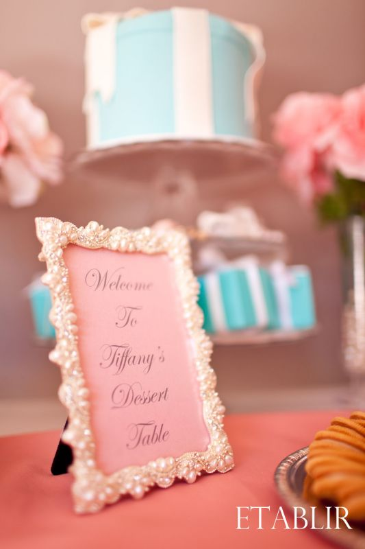 Elegant Dessert Table Frames