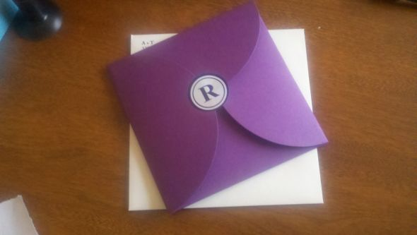 DIY Petal Envelopes wedding invitations diy purple Api Photo 2e3ddf13 3722
