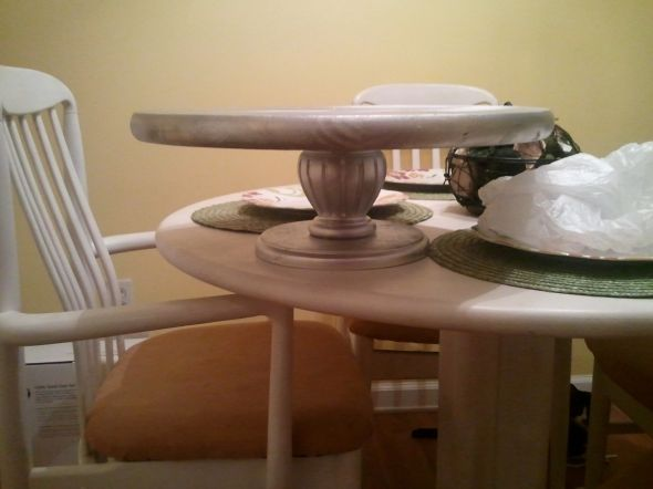 Silver Pedestal Cake Stand wedding cake stand 18 round silver cake Cake