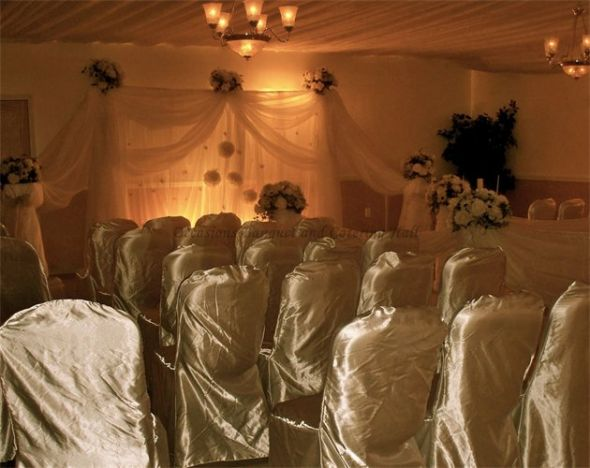 Ceremony And Reception In Same Room: Ceremony & Reception In The Same Room. Do You Think Its Tacky?