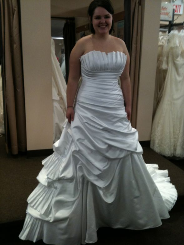 White VS Ivory Dress