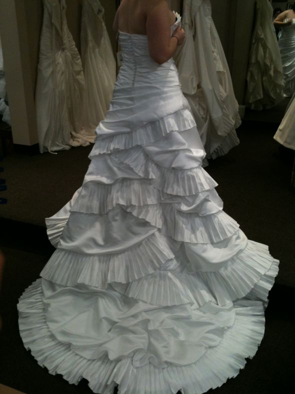 China replica dress (Tiffanybridals) ITS HERE! Pic heavy