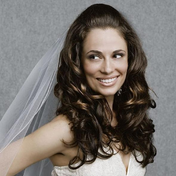 My Hair Inspiration wedding hair down do 1 curly long veil inspiration