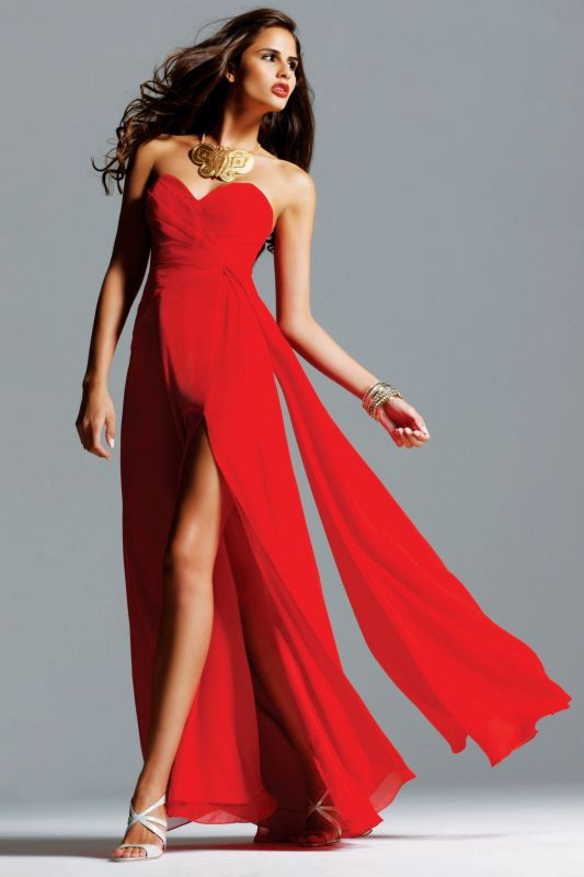 What shoes will match a red wedding dress?