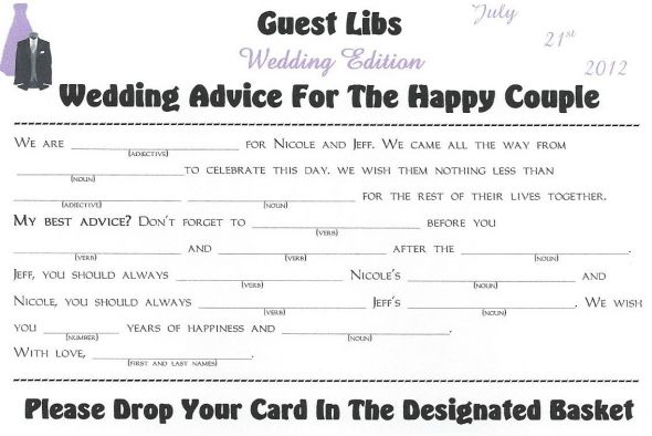 My Guest Libs Guestbook wedding black purple silver diy reception Scan0001