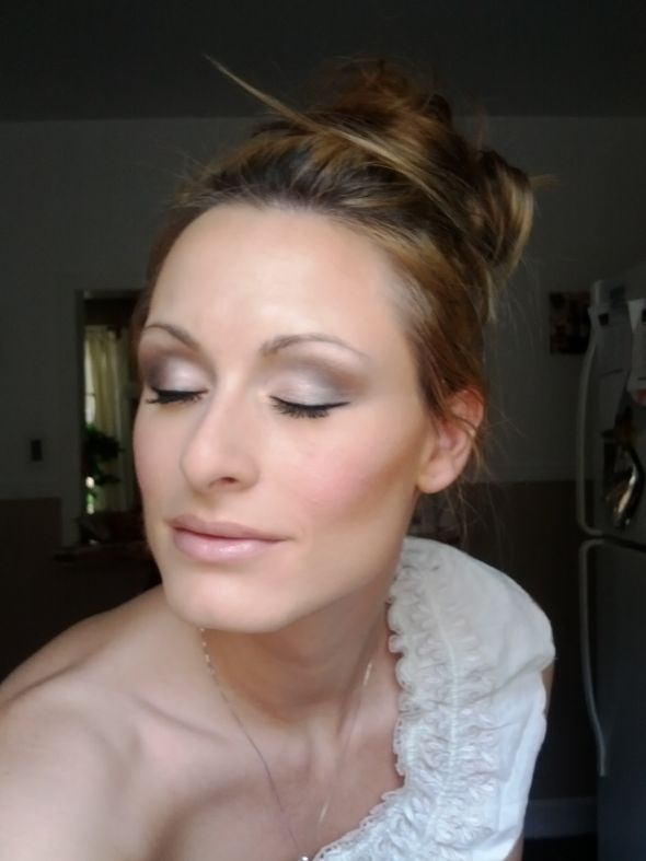My wedding day makeup done by me :)