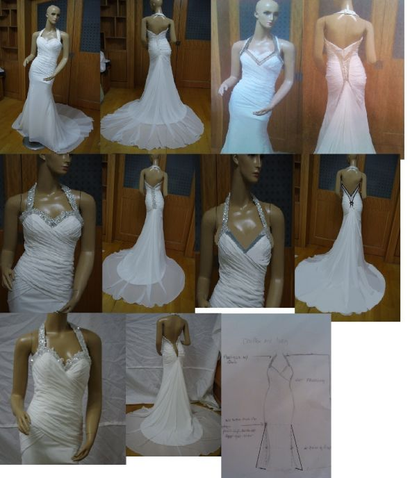 My wedding dress!! From botched to f
