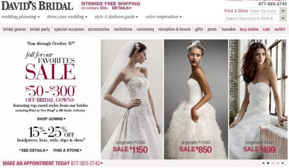 Davids Bridal Fall Sale!